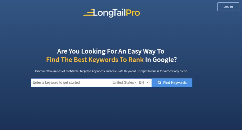 long-tail-pro-keyword research