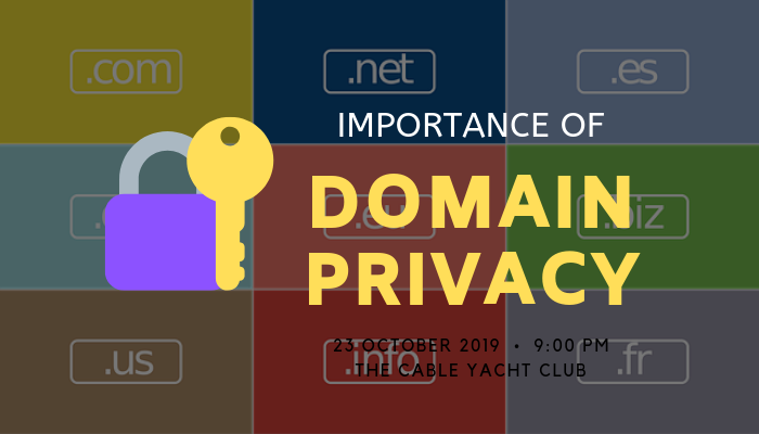 domain privacy is important