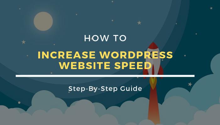 increase wordpress website speed beginners guide