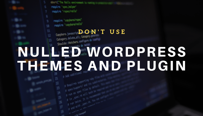 nulled wordpress themes and plugin