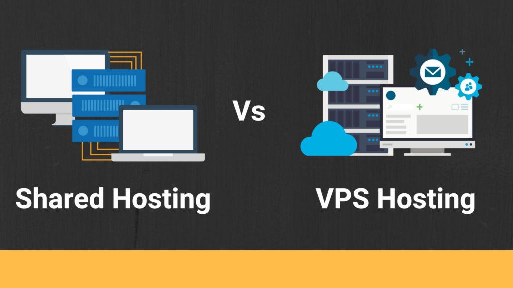 shared hosting vps hosting