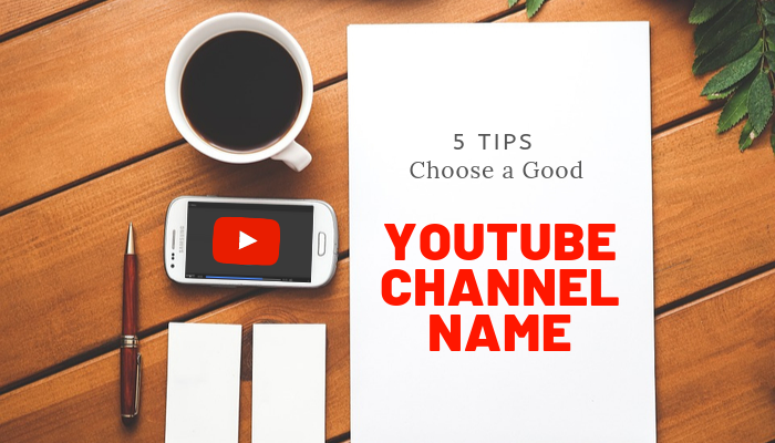 choose a great youtube channel name