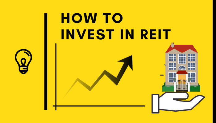 how to invest in reit