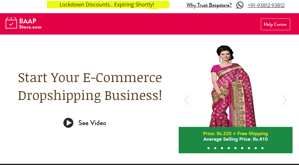 baapstore droipshipping site