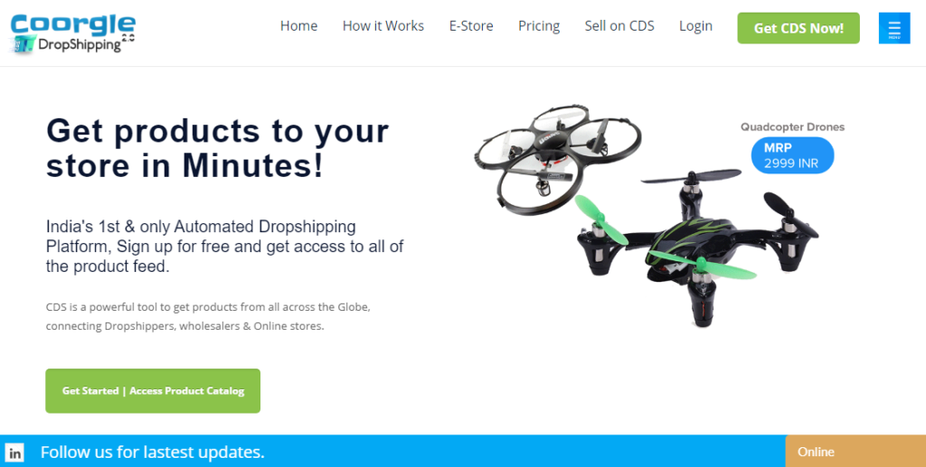 croggle dropshipping website
