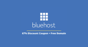 bluehost 67% Discount Coupon