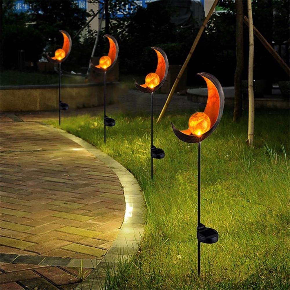 Solar LED garden lamp