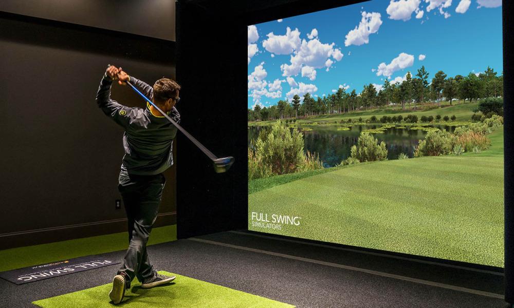 golf simulator dropshipping product