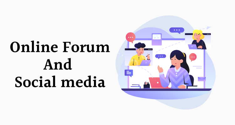 online forum and social media research