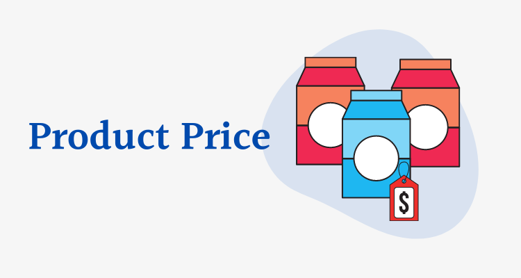 product price in dropshipping