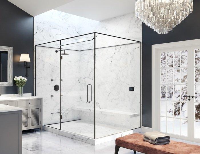 steam shower fitting