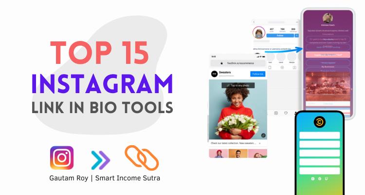 Instagram Link in bio tools