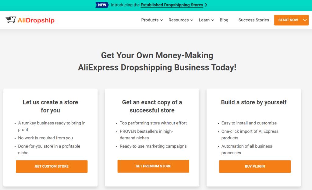 AliDropship best dropshipping tool