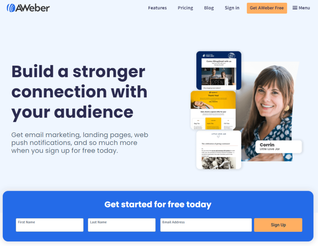 Aweber email automation tool for dropshipping