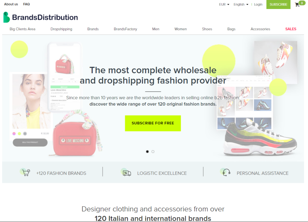 Brands Distribution